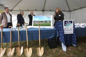 Breaking Ground Ceremony | Charter Senior Living of Oak Openings Image Gallery