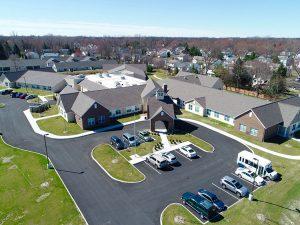 Bird's Eye View of Charter Senior Living of Oak Openings