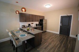 Kitchen in Studio Apartment