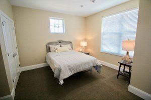 Bedroom in Studio Apartment