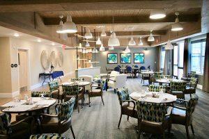 Dining Room at Charter Senior Living of Oak Openings