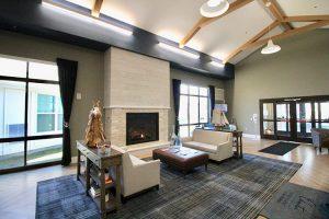 Hearth Room at Charter Senior Living of Oak Openings
