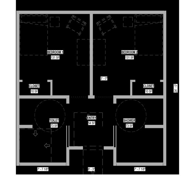 Memory Care Companion Suite Floor Plan